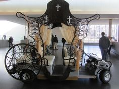 Decorated golf cart at The Nelson in ICMO