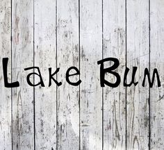 REPIN.  We have heard all you lake bums out there wanting a simple way to represent your laid back lake lifestyle.  Here it is available in black, white, teal, pink, and sky blue.  Get one today and move over Salt Life! Lake Homes, Lake Beach, Deep Forest, Lake Life, Cricut Ideas, Beach House, Brother, Decals, Salt