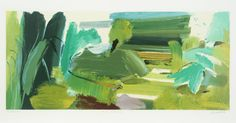 'Untitled' from For John Constable (1976) / Ivon Hitchens