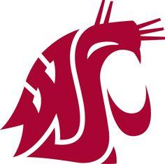 Washington State Cougars Primary Logo - NCAA Division I (u-z) (NCAA u-z) - Chris Creamer's Sports Logos Page - SportsLogos.Net