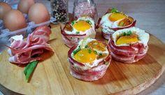 Uova in gabbia | Bacon eggs muffins