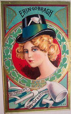 Vintage St. Patrick's Day Postcard | Flickr - Photo Sharing!