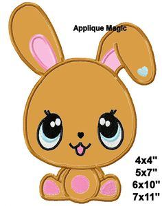 Chocolate Bunny Easter Baby Machine Applique Design Embroidery Pattern for Face Masks or Others 4x4 5x7 6x10 INSTANT DOWNLOAD by AppliqueMagic on Etsy Machine Applique Designs, Machine Embroidery Patterns, Different Types Of Fabric, Easter Baby, Chocolate Bunny, W 6, Face Masks, Printing On Fabric, Pattern Design