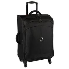Black - Delsey U-Lite 23 Inch Spinner Trolley Case, Designer Leather Handbags, Briefcase, Laptop Bag, Suitcase, Travel, Black, Organization, Getting Organized