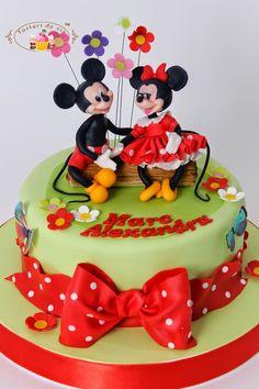 Torturi - Viorica's cakes: Tort cu Minnie si Mickey pentru Marc Alexandru