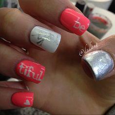 Beautiful nails.