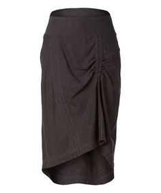 This Obsidian Panorama Linen-Blend Skirt by Royal Robbins is perfect! #zulilyfinds
