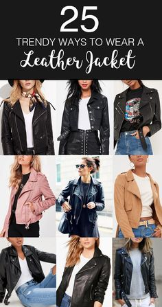 95 best Leather Jacket images on Pinterest in 2019   Fashion clothes ... 97f288e5b6a