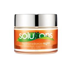 £3.50 Avon Solutions Hydra Radiance Night Cream.  Replenish dull skin for a more radiant you. 50ml