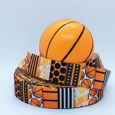 7/8 Basketball  Sports Ribbon  Printed Grosgrain