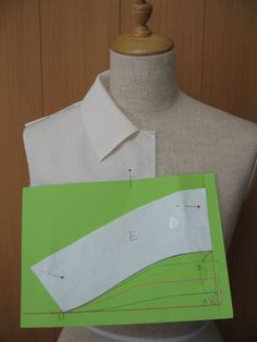 T Shirt Sewing Pattern, Pattern Drafting, Bodice Pattern, Collar Pattern, Sewing Hacks, Sewing Tutorials, Clothing Patterns, Sewing Patterns, Sewing Collars