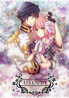 Uta no☆prince-sama♪, Nanami Haruka, Ichinose Tokiya, Music Note, Pink Flower