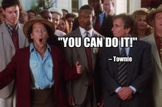 """""""The WaterBoy"""" Rob Schneider = 'townie' """"You can DO IT"""
