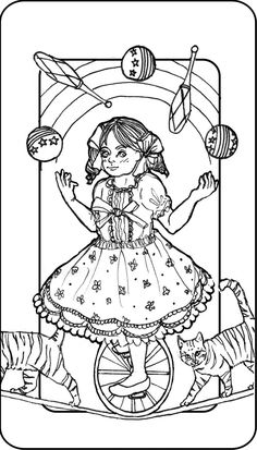 Tarot Deck 0 Andy Freire 2015 Ink On Paper Digital
