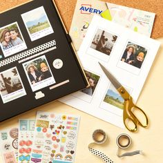 Avery Sticker Project Paper (3383) is perfect for creating a custom photo album. You can create your own designs using our free software, or choose from hundreds of free templates.