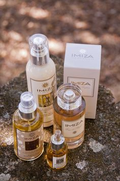 Toute la gamme des produits de beauté IMIZA