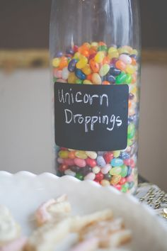 A LOL-worthy idea for a unicorn-themed birthday party.