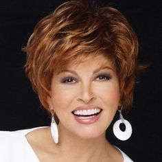 Stunning Inclined Bang Short Synthetic Nobby Fluffy Curly Brown Mixed Capless Wig For Women