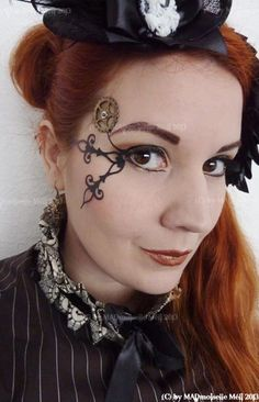 109 Best Steampunk Hair \u0026 Makeup Inspiration images