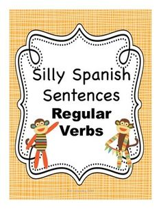 Spanish present tense regular verb writing activity - I like that this is self-differentiating