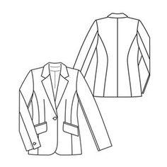 promo code 0b925 52143 20 fantastiche immagini su disegno tecnico giacche ...
