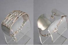 Jewelry Made Out Of Silverware | ... heirloom antique jewelry transformed into silver bracelet jewelry