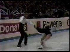 Torvill and Dean: The 1984 Paso Doble set pattern dance. I liked this one better than Bolero!