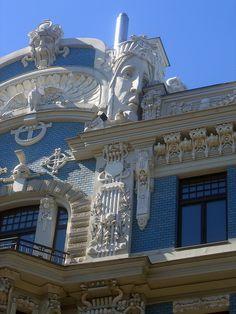 Art Nouveau District, Riga