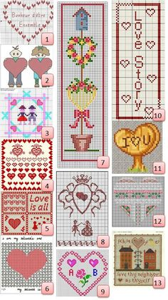 Free Valentine's charts