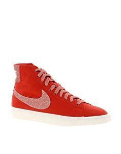 Imagen 1 de Zapatillas de deporte hi-top en color blanco Blazer Decon CVS de Nike