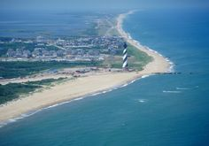 Hatteras Island, NC.  Would live there, if it weren't for the hurricanes...  Grew up visiting...All of the Banks are my paradise...
