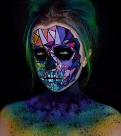 Halloween make up, saw halloween costume, awesome halloween makeup, saw cos Skull Makeup, Sfx Makeup, Costume Makeup, Makeup Art, Crazy Makeup, Makeup Looks, Makeup Inspo, Makeup Inspiration, Makeup Ideas