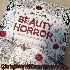 Best Halloween and Fall Coloring Books for Adults http://coloringbookaddict.com/best-halloween-coloring-books-adults/#
