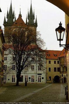 Prague old Town Ungelt...