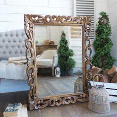 Zrkadlo Orchidea Milano Classic Wood, stredné