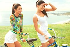 Kendall and Kylie Jenner photoshoot