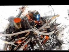 Calcium Carbide and water - YouTube