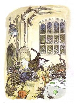 E. H. Shepard - The wind in the willows