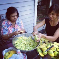 Nanee's Mango Atchar-Guyanese Chutney   Ajee's House