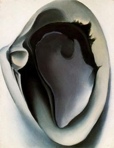 Clam and mussel - Georgia O'Keeffe