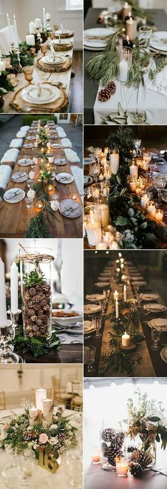 chic rustic winter centerpieces for 2018 . chic rustic winter centerpieces for 2018 . chic rustic winter centerpieces for 2018 Wedding Centerpieces Mason Jars, Winter Wedding Centerpieces, Flower Centerpieces, Centerpiece Ideas, Rustic Centerpieces, Elegant Winter Wedding, Wedding Rustic, Winter Weddings, Casual Wedding