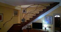 RINGHIERA FERRO BATTUTO . Realizzazioni Personalizzate . 000 Scale, Stairs, Ebay, Home Decor, Bricolage, Weighing Scale, Stairway, Staircases, Interior Design