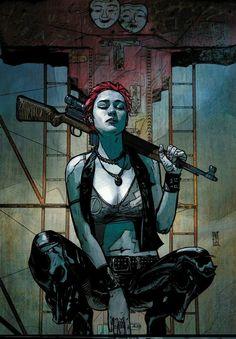 Scarlet by Alex Maleev *mafia