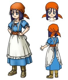 View an image titled 'Erinn Art' in our Dragon Quest IX: Sentinels of the Starry Skies art gallery featuring official character designs, concept art, and promo pictures. Chrono Trigger, Character Design Animation, Character Design References, Blue Dragon, Dragon Ball Z, Character Concept, Character Art, Akira Characters, Dragon Warrior
