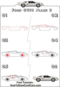 how to draw a car tire