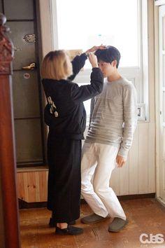 Ryu Junyeol struggling with his height