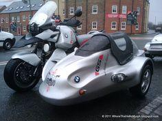 It is a pretty cool side car, but it does tend to defeat the purpose of having a GS.