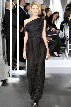 Christian Dior Spring 2012 Couture Fashion Show - Patricia van der Vliet