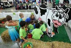 Image result for children´s museum exhibit cows milk