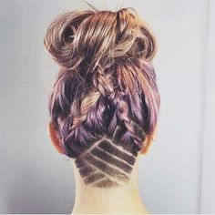 I love these braids, K would love to know how to do this                                                                                                                                                                                 More